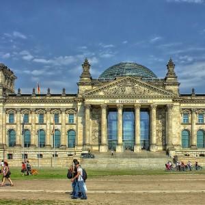 Reichstag à Berlin