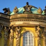 Le palais de Sanssouci