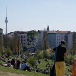Le Mauerpark de Berlin