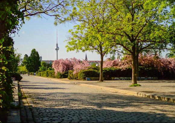 Mauerpark balade park